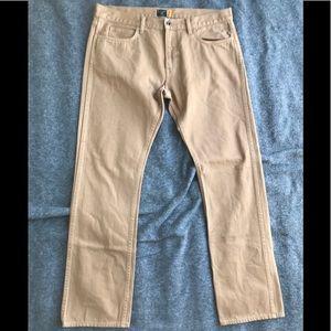 Men's JCrew 484 Rust Color Jeans-36 x 32